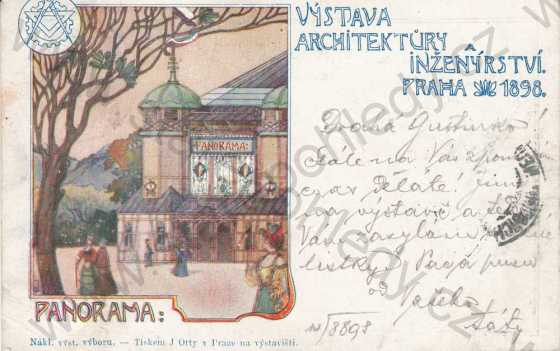 Výstava architektury a inženýrství Praha 1898, Panorama, DA